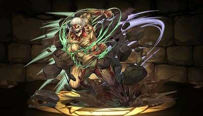 パズドラ 鎧の巨人